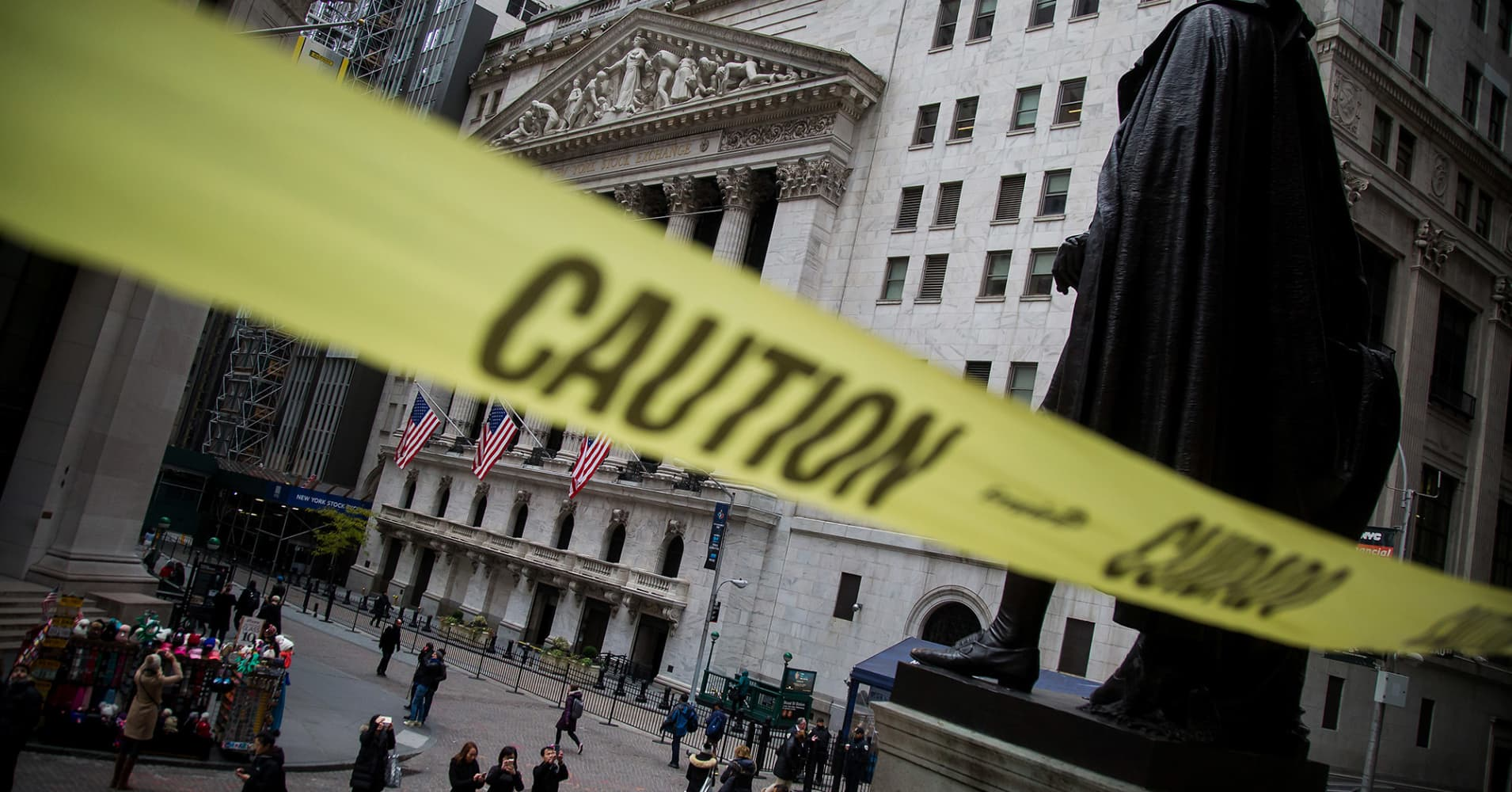 Stock market's wild flip flop comes as warning signs build