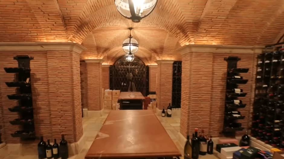 The Wine Cellar Was A Million Dollar Build