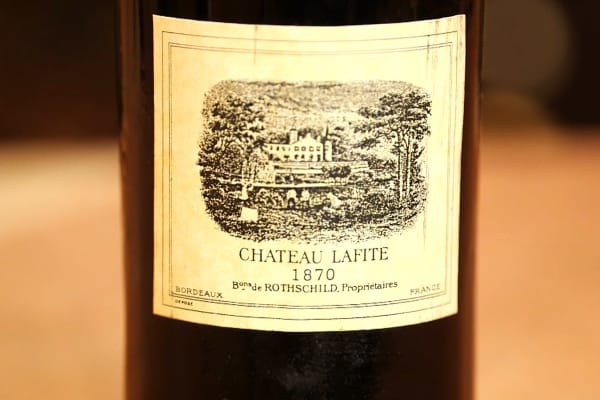 This bottle of Lafite Rothschild is worth $20,000.