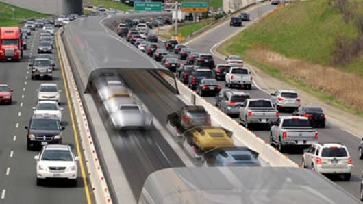 Illustration provided by Arrivo and Colorado Department of Transportation.