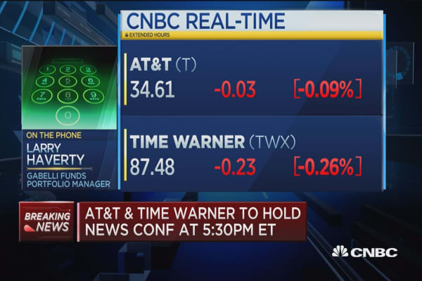 'Highly predictable' for DOJ to litigate AT&T/Time Warner merger:
