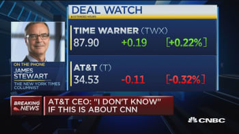 NYT's Jim Stewart weighs in on DOJ's lawsuit against AT&T and Time Warner merger