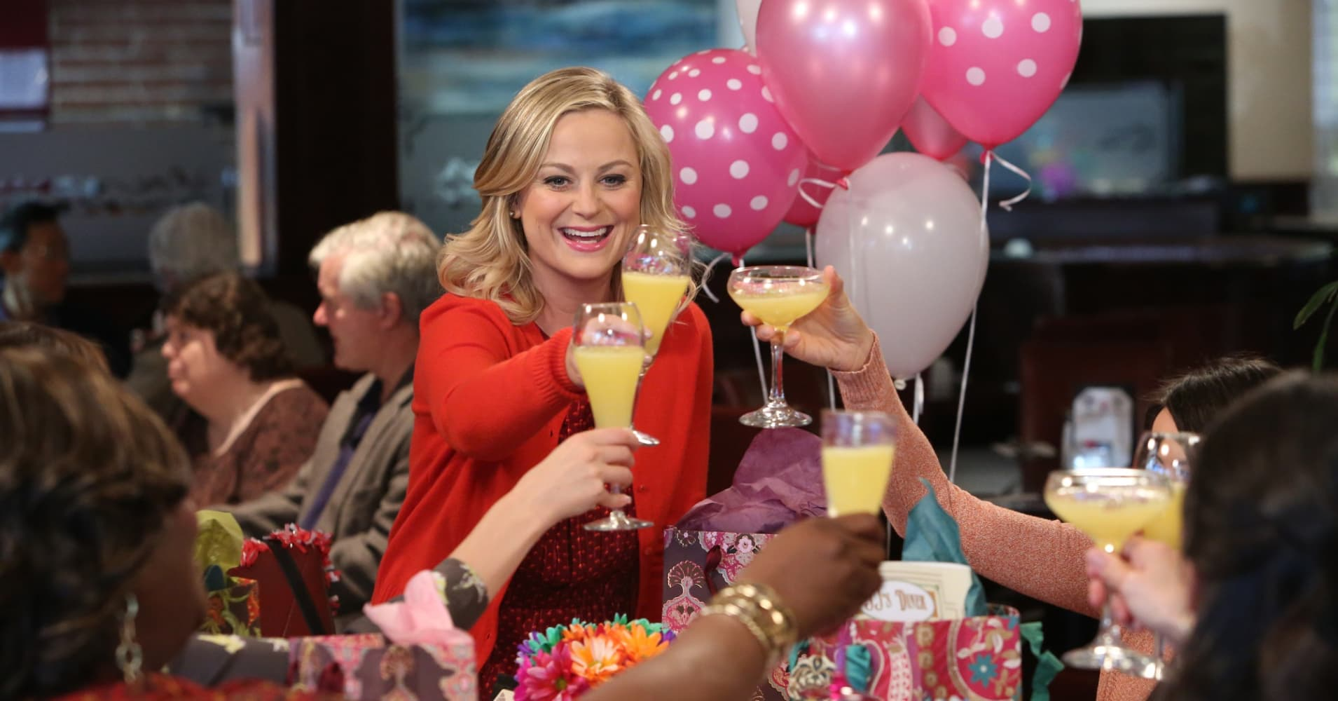 "Amy Poehler as Leslie Knope in ""Parks and Recreation."""