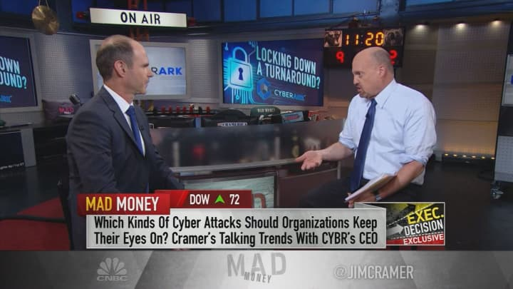 The cloud is a 'new frontier for hackers,' Cyberark Software CEO says