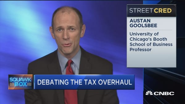 Don't ask middle class to pay for corporate tax cut. It doesn't make any sense: Austan Goolsbee