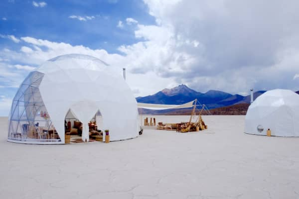 This company will build you a pop-up luxury camp anywhere—from Bolivian salt flats to remote Iceland