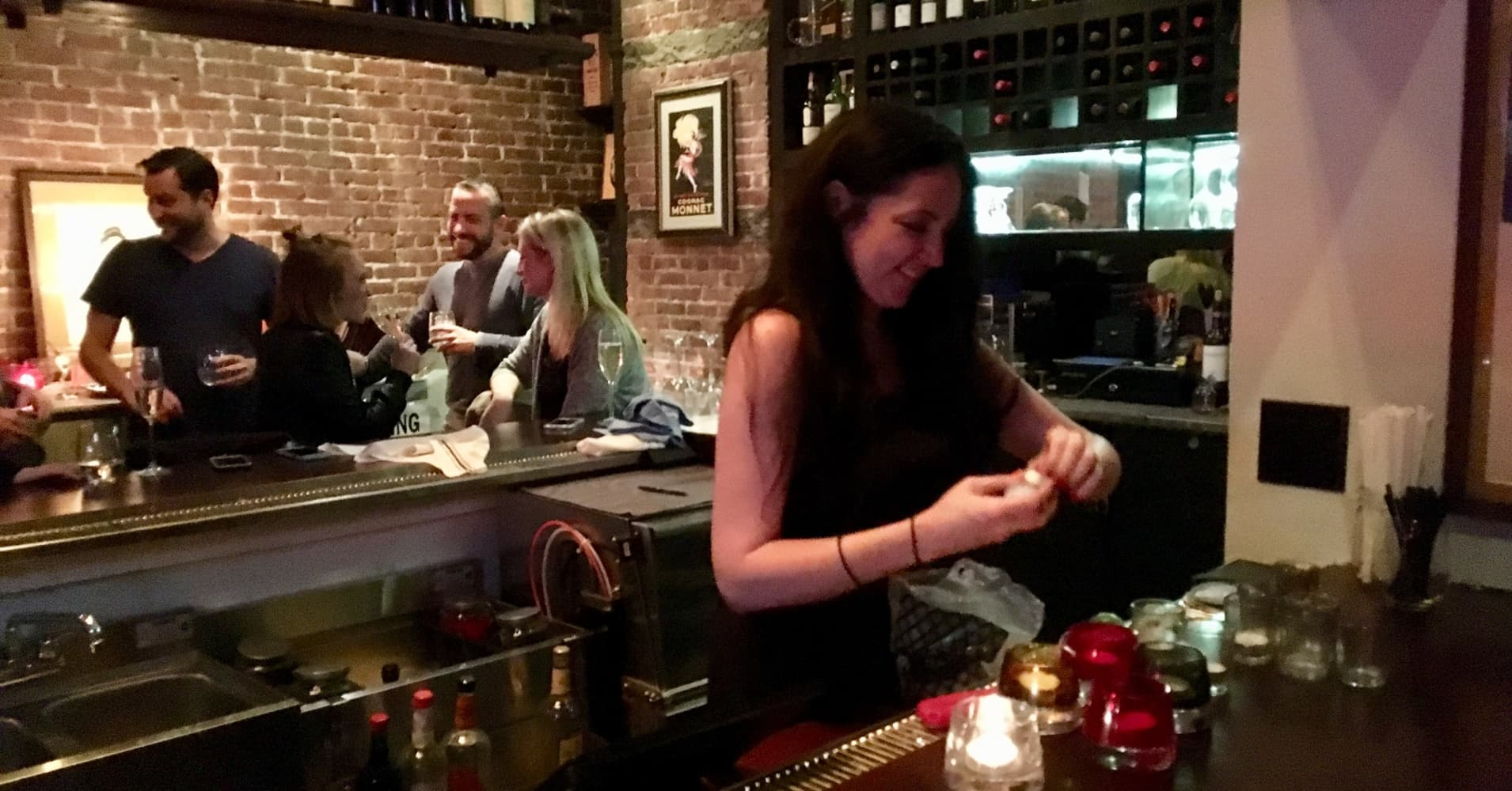 Caitlin Cahill works at Guyer's on the Upper West Side