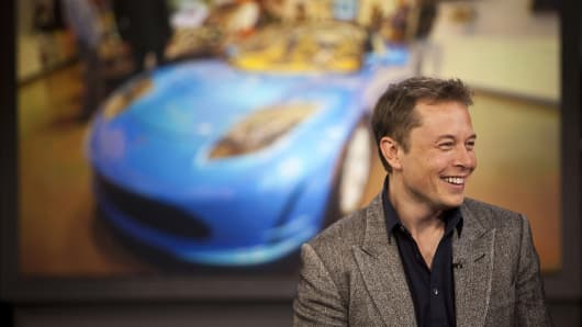 Tesla stakes Elon Musk's salary on plan to become bigger than Amazon