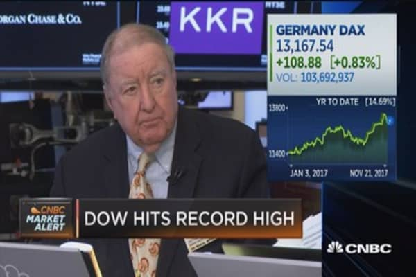 Art Cashin: Market is somewhat obsessed with corporate tax cut