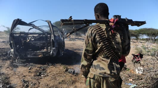 Over 100 Shabab Militants Killed in US Airstrike in Somalia