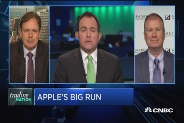 Trading Nation: Apple's big run