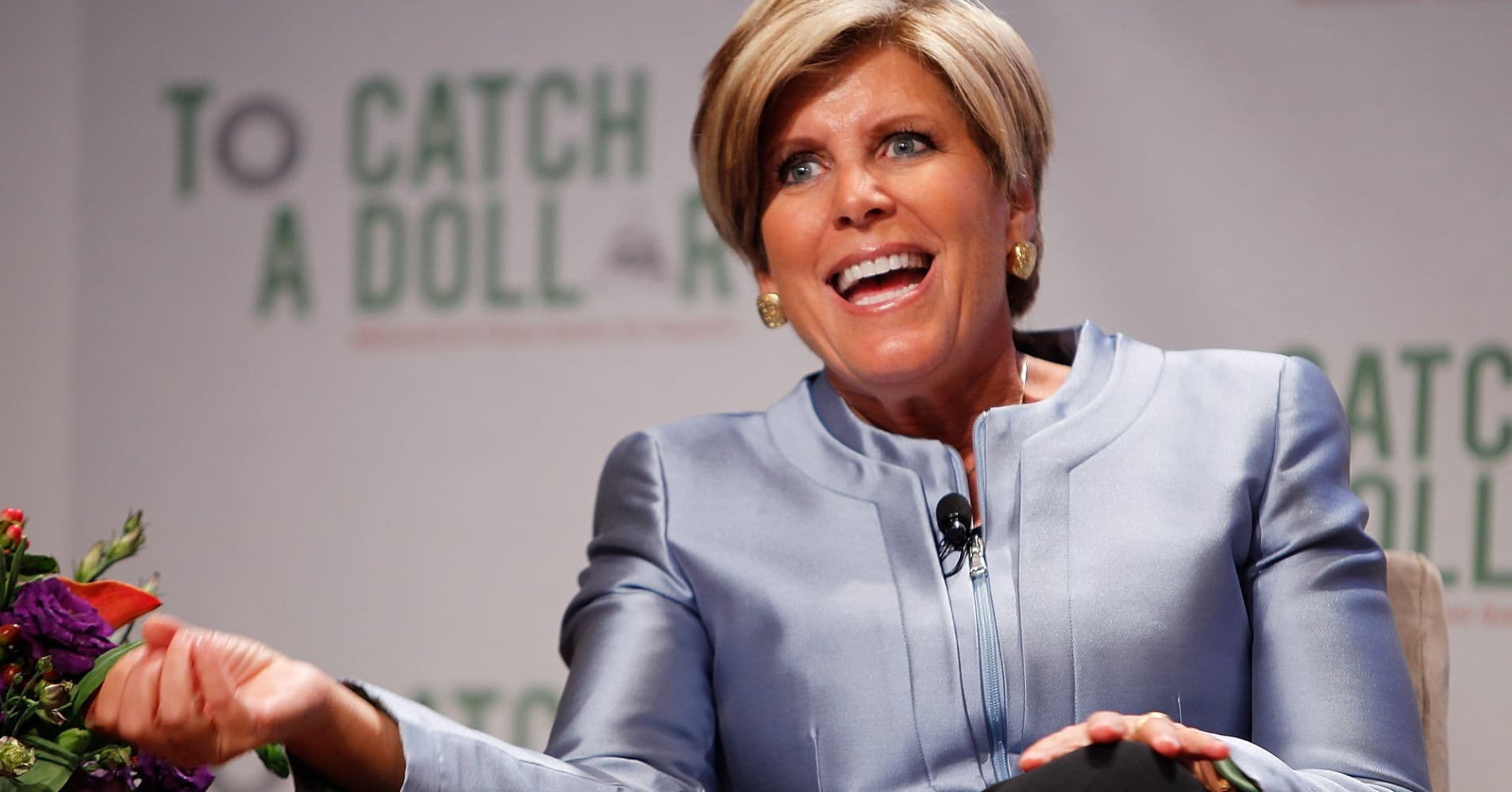 Suze Orman: If you waste money on coffee, it's like 'peeing $1 million down the drain'