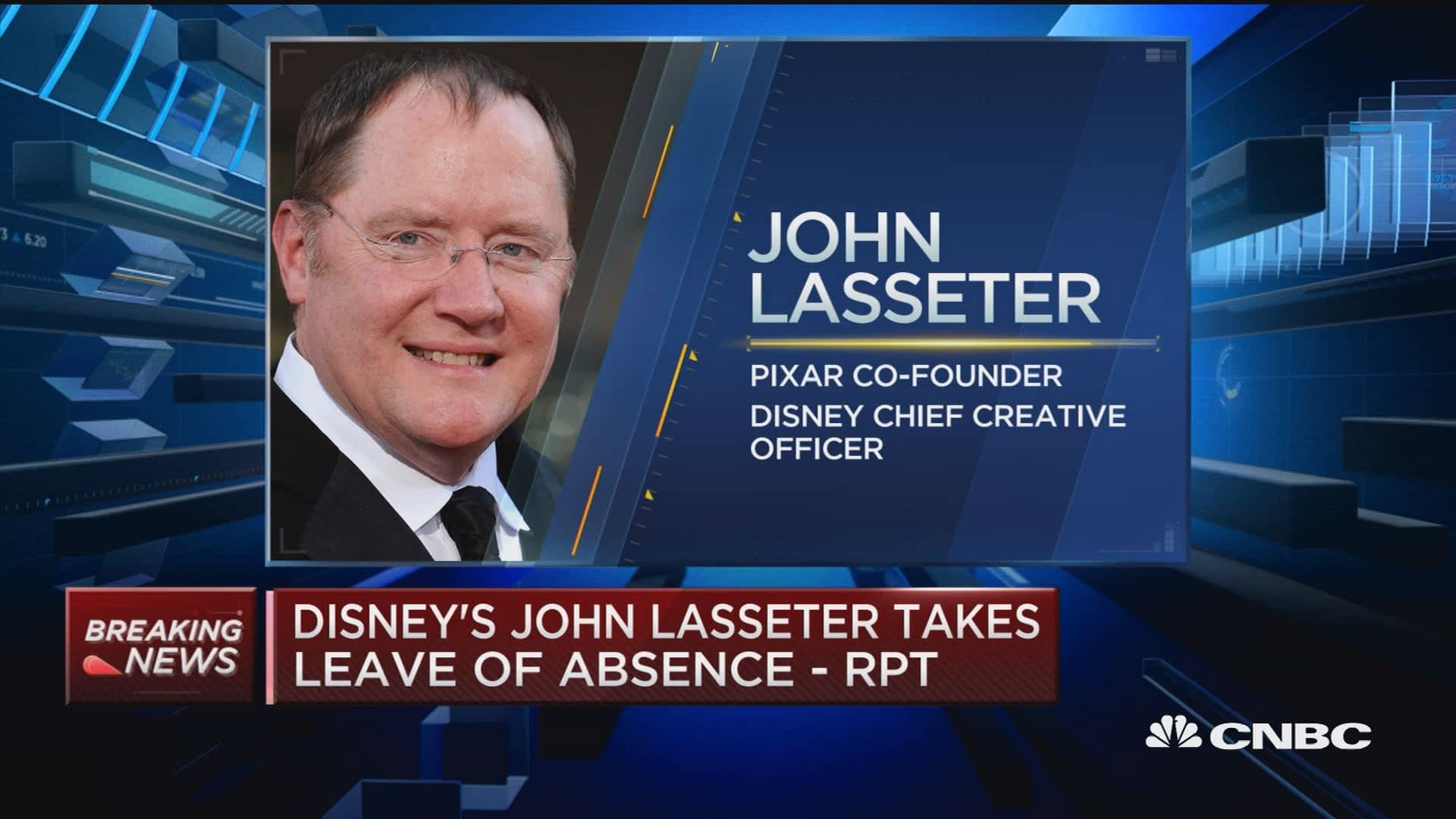 John Lasseter takes leave of absence from Pixar: Hollywood Reporter