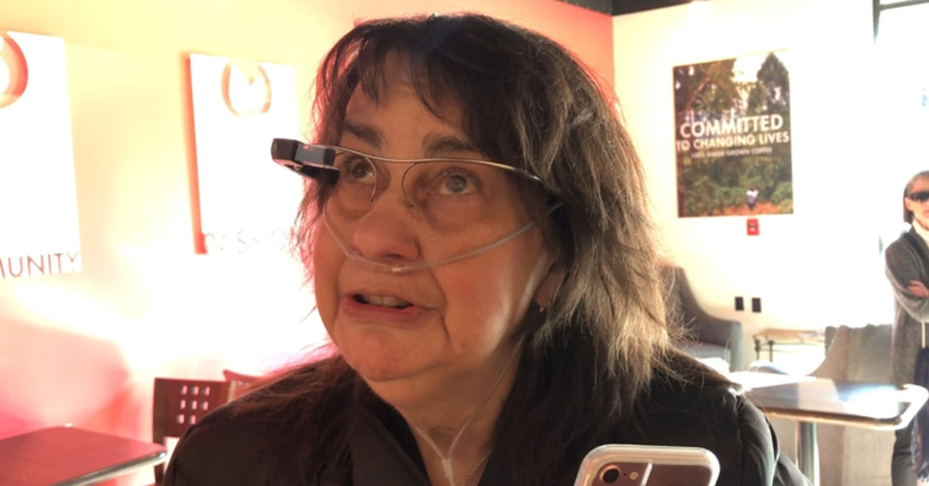 How this Google Glass app is providing digital assistance to my blind aunt