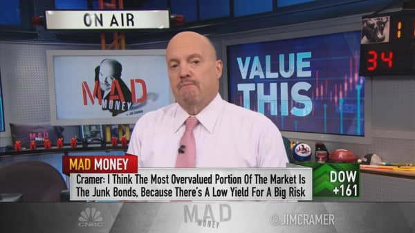Much of market overvalued, but not stocks
