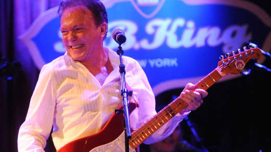 David Cassidy performs his final touring concert at B.B. King Blues Club & Grill on March 4, 2017, in New York City.