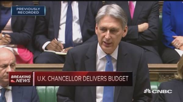 Budget is about much more than Brexit: UK Finance Minister