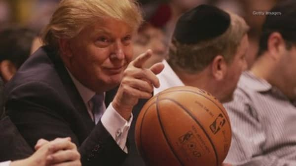 Trump again lashes out at UCLA basketball player's father