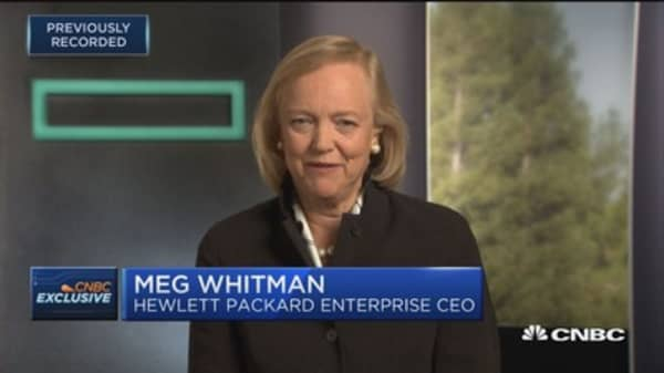 HPE's Meg Whitman: I am not running for president