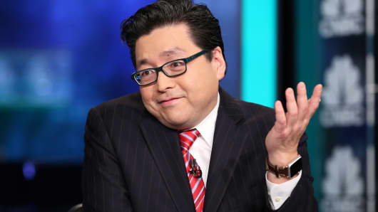 Tom Lee, Fundstrat Global Advisors