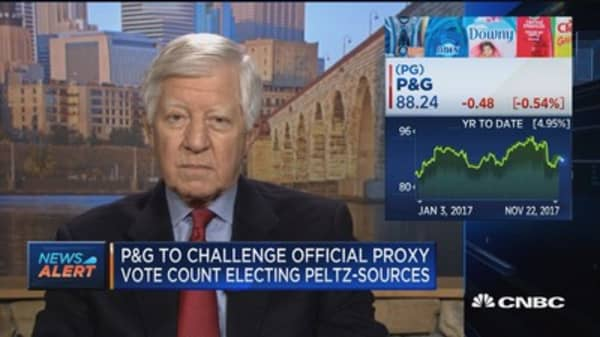 Bill George on P&G challenge: Bring Nelson on the board
