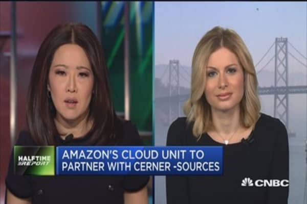 Amazon's cloud unit to partner with Cerner: Sources
