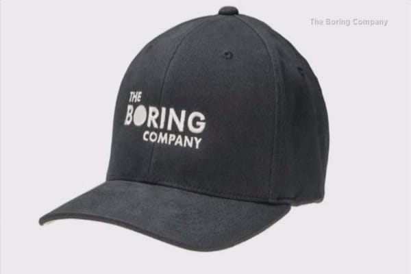 Elon Musk claims his Boring Co. tunneling firm has raised $300,000 by selling hats