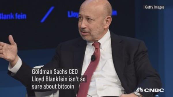Lloyd Blankfein on bitcoin: