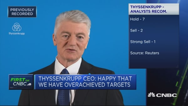 See no short-term impact from stalled German coalition talks: ThyssenKrupp CEO