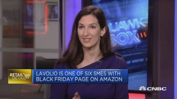 Lavolio: 50% of sales on Amazon come from marketplace sellers