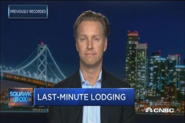 Hottest last minute travel deals: HotelTonight CEO