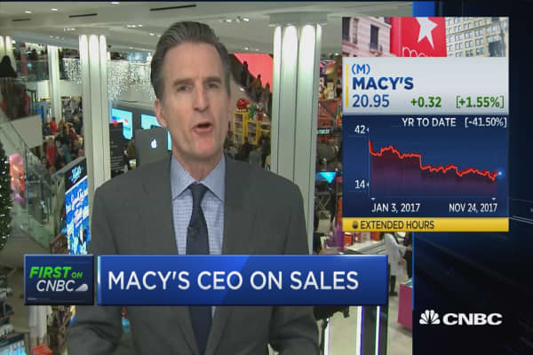 Macy's CEO: We have a 5 week marathon ahead of us, we've got to earn our dollar every day