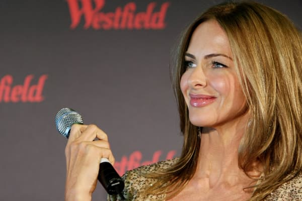 Trinny Woodall looks on at the Westfield Fashion Therapy launch event at the Sydney Cricket Ground on September 28, 2010 in Sydney, Australia