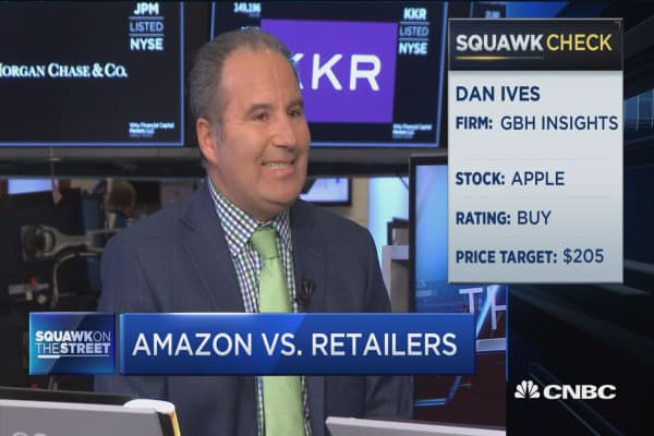 This is the one holiday where we could see retail winners that aren't Amazon: Ed Yruma