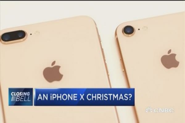 We expect iPhone 8 to have less success than iPhone X this holiday season: Max Wolff