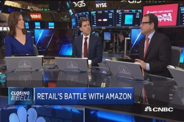 Can any retailer take on Amazon?