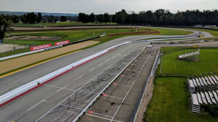 The Mid-Ohio driving school track
