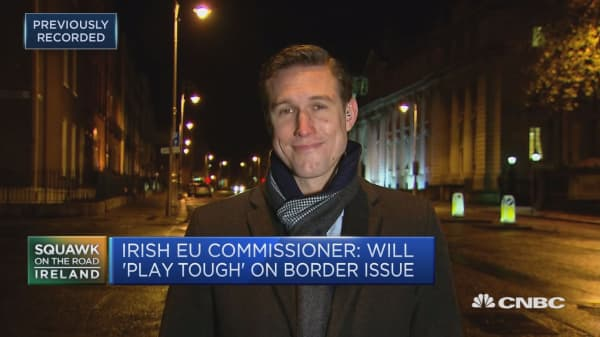 Political fallout overshadows crucial North Ireland Brexit border issue