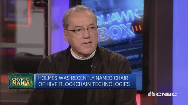 Bitcoin has 'woken' people up to the power of blockchain tech: CEO