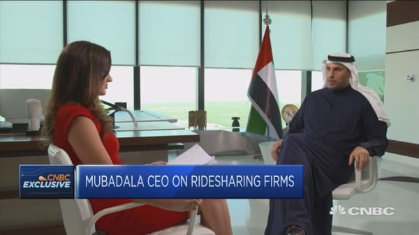 China's Didi is 'a great company', says Mubadala CEO