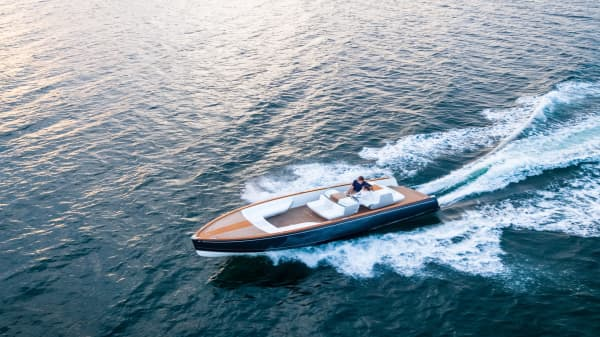 This is considered the Tesla of luxury motor boats