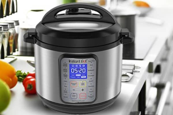 Instant Pot DUO Plus 6 Qt 9-in-1 Multi- Use Programmable Pressure Cooker.