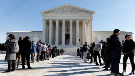 Supreme Court To Hear Case On Union 'Fair Share Fees'