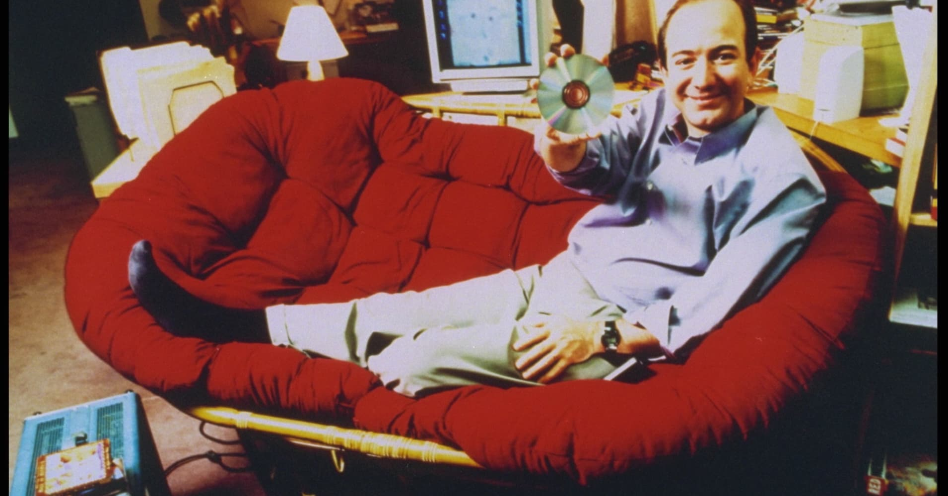 Jeff Bezos in 1999