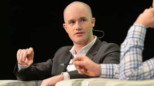 Coinbase CEO Brian Armstrong
