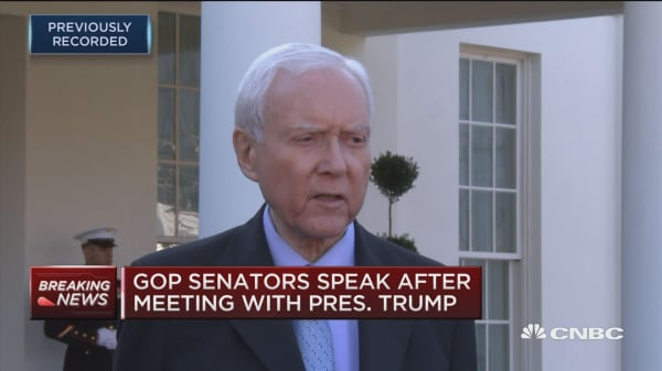Sen. Hatch: I hope Democrats will work with us on tax bill