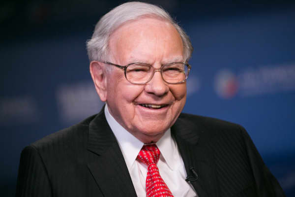 Warren Buffett, presidente y director general de Berkshire Hathaway.
