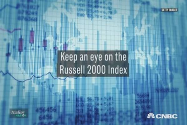 The Russel 2000 index could benefit from the tax reform bill, if it pass the Senate