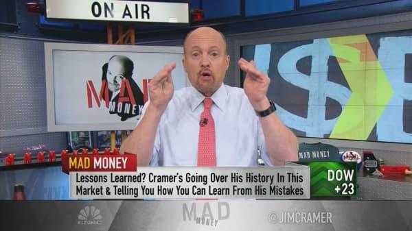 Cramer's biggest investing mistakes