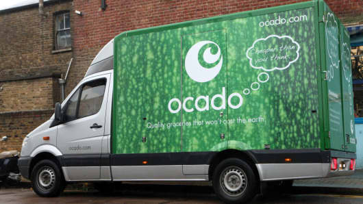 Ocado jumps on global deal in France